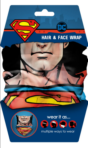 Superman justice face face wrap