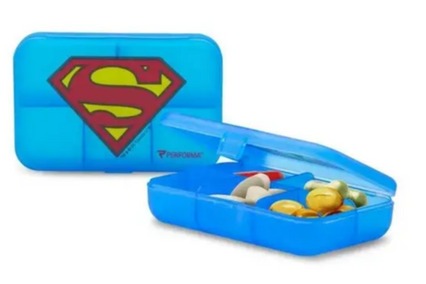 Superman Daily Pill Container