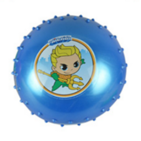 Aquaman Knobby Blue Bounce Ball