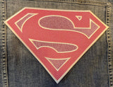 Oversized Supergirl Logo Iron-on Patch