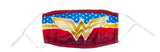Wonder Woman Large Logo Adjustable Face Cover Mask