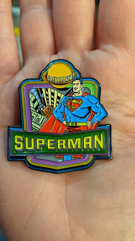 Superman Daily Planet Lapel Pin