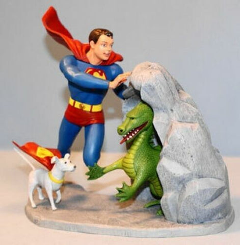 Superboy and krypto to the rescueModel Kit Re-issue of the Original 1966 Aurora Kit