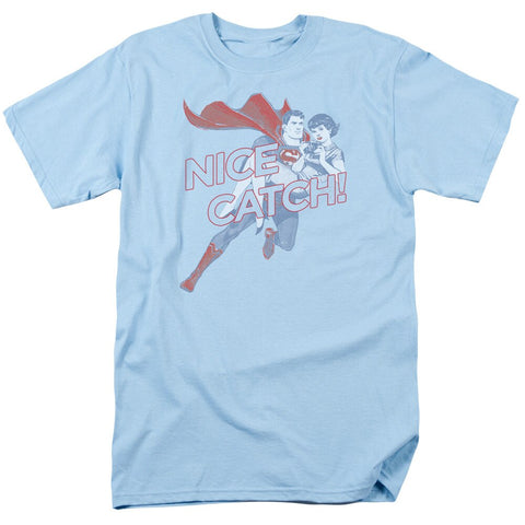 "SUPERMAN AND LOIS LANE ""NICE CATCH SHIRT"