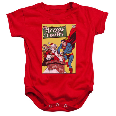 "Superman ""DC-COVER NO. 105"" Holiday Onesie"