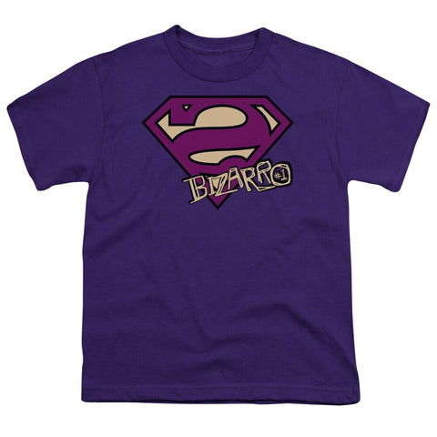 "SUPERMAN ""BIZARRO SHIELD"" YOUTH SHIRT"