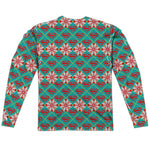 "SUPERMAN HOLIDAY ""Ugly Christmas Sweater"" Style Long Sleeve Shirt"