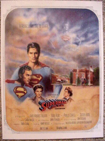 Superman Comes Home Print