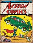 Superman Action Comics No. 1 Tin Sign