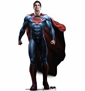 """Standing Tall"" Man of Steel Justice League 2017 Superman Henry Cavill Standee"