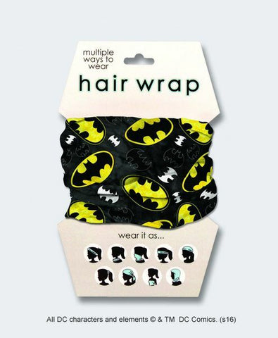 Batman Logo hair and face Wrap Bandana