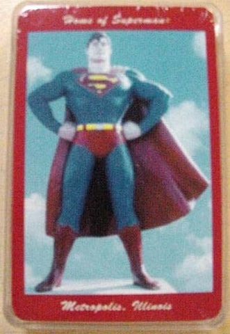 Superman Statue Playing Cards