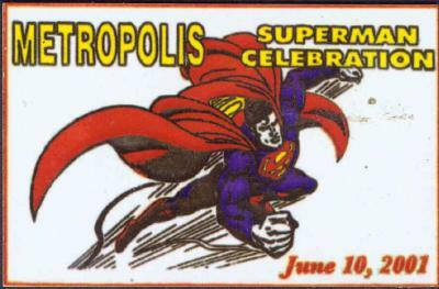 Superman Celebration Dash Plate 2001
