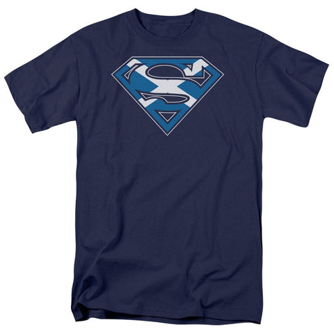 "SUPERMAN ""SCOTTISH SHIELD"" SHIRT"