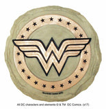 Wonder Woman Logo Garden Stepping Stone