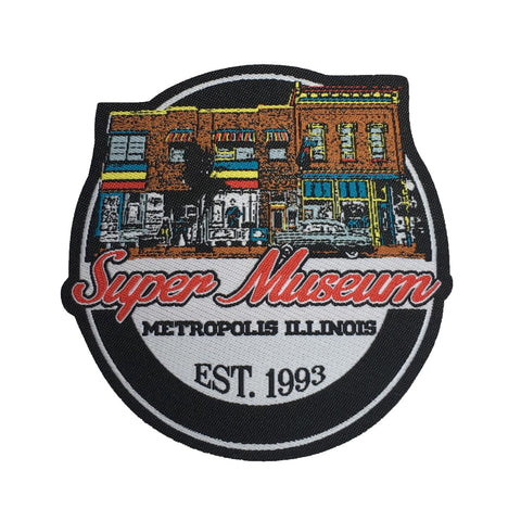 Super Museum Metropolis Illinois Logo Patch