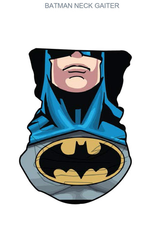 Batman Neck Gater Print Face Wrap Mask Bandana