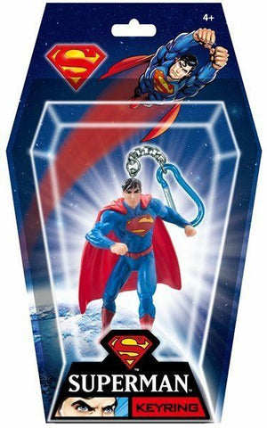 DC Comics Superman Figural PVC Key Ring Keychain