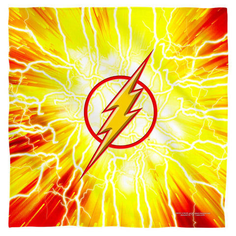 The Flash Lightning Emblem Bandana