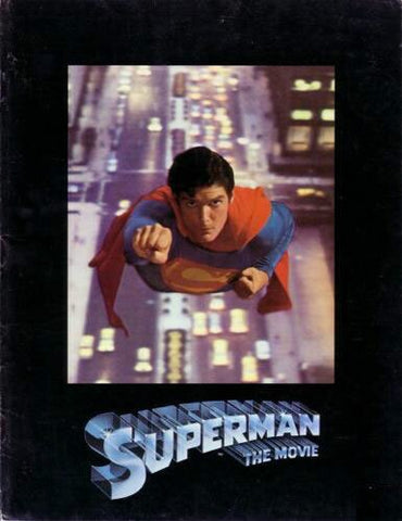 Christopher Reeve Superman: The Movie Souvenir Program (1978)