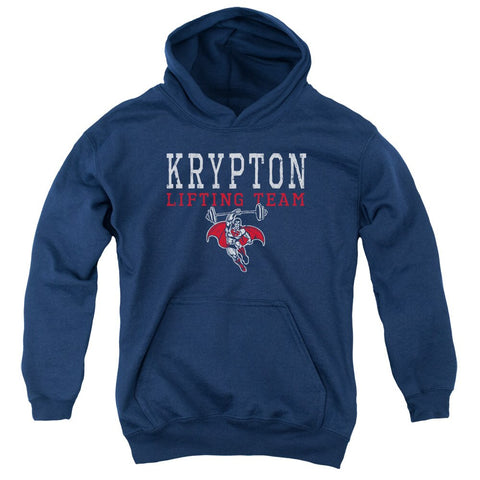 "Henry Cavill Superman ""Krypton Lifting Team"" YOUTH PULL-OVER HOODIE Sweat Shirt AS SEEN ON INSTAGRAM"