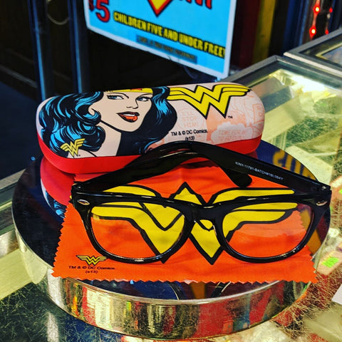 Wonder Woman Diana Prince Eye Glasses Case