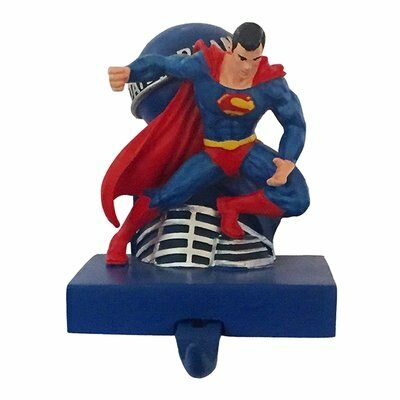 Superman Daily Planet Christmas Stocking Hanger