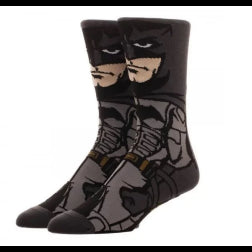 Batman standing tough socks