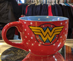 Wonder Woman Oversized 24 oz. Red Circle Logo Soup Bowl Mug