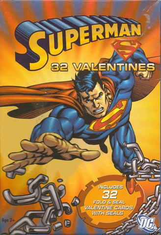 Superman Valentines Day Cards
