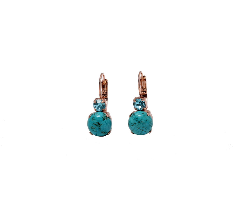 classic small Turqoise earrings