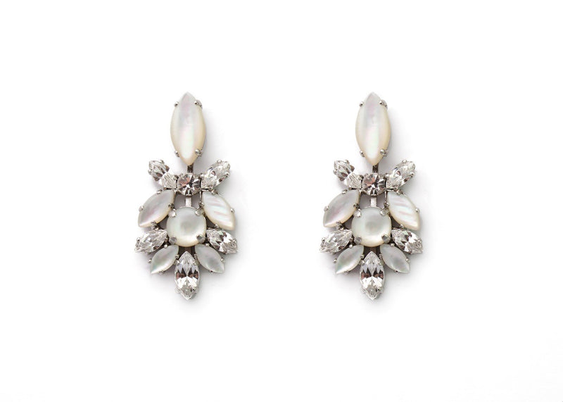 Eelegant evening/bridal earrings
