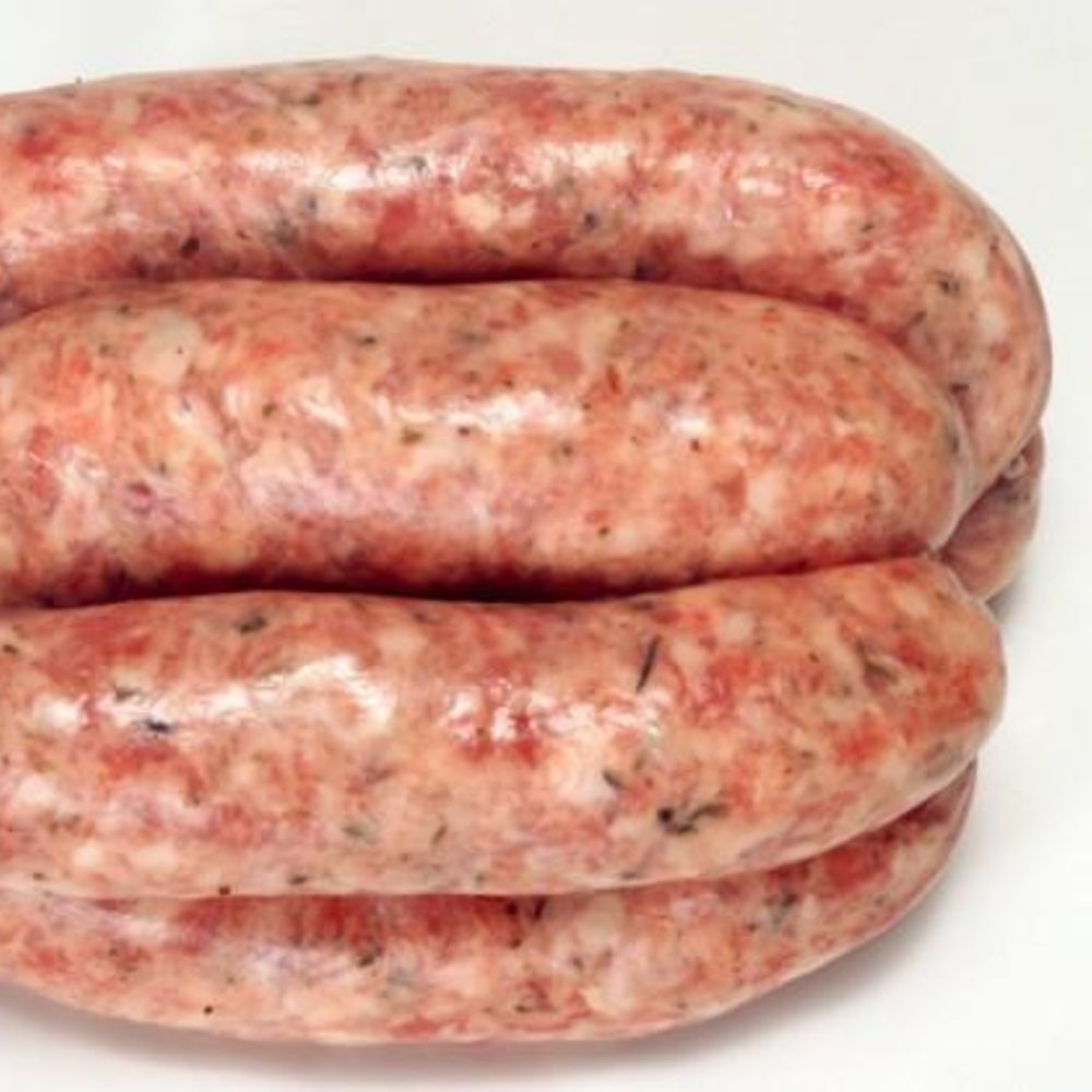 Cracked Pepper & Fresh Sage Pork Sausages | Free-Range