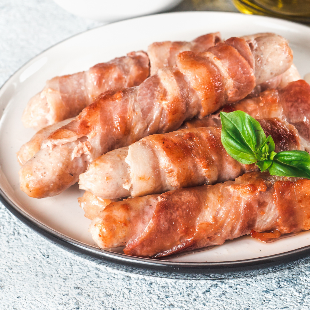 Free Range Pigs in Blankets | Sausages