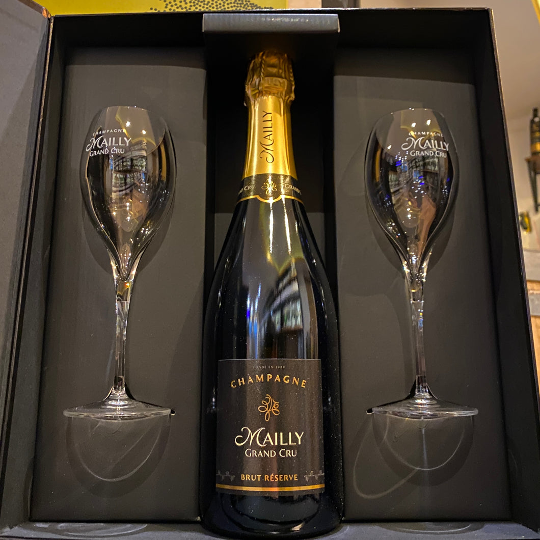 Mailly - Brut Réserve Champagne Grand Cru Box