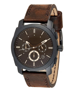 Classic & Best Black Dial Leather Band Watch