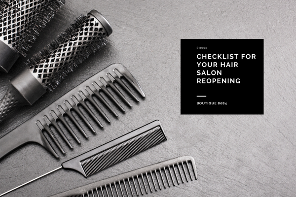 Checklist for your Hair Salon Reopening (downloadable e-book)
