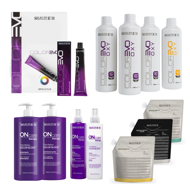 Selective Colorevo Hair Color Intro Kit 121 tubes