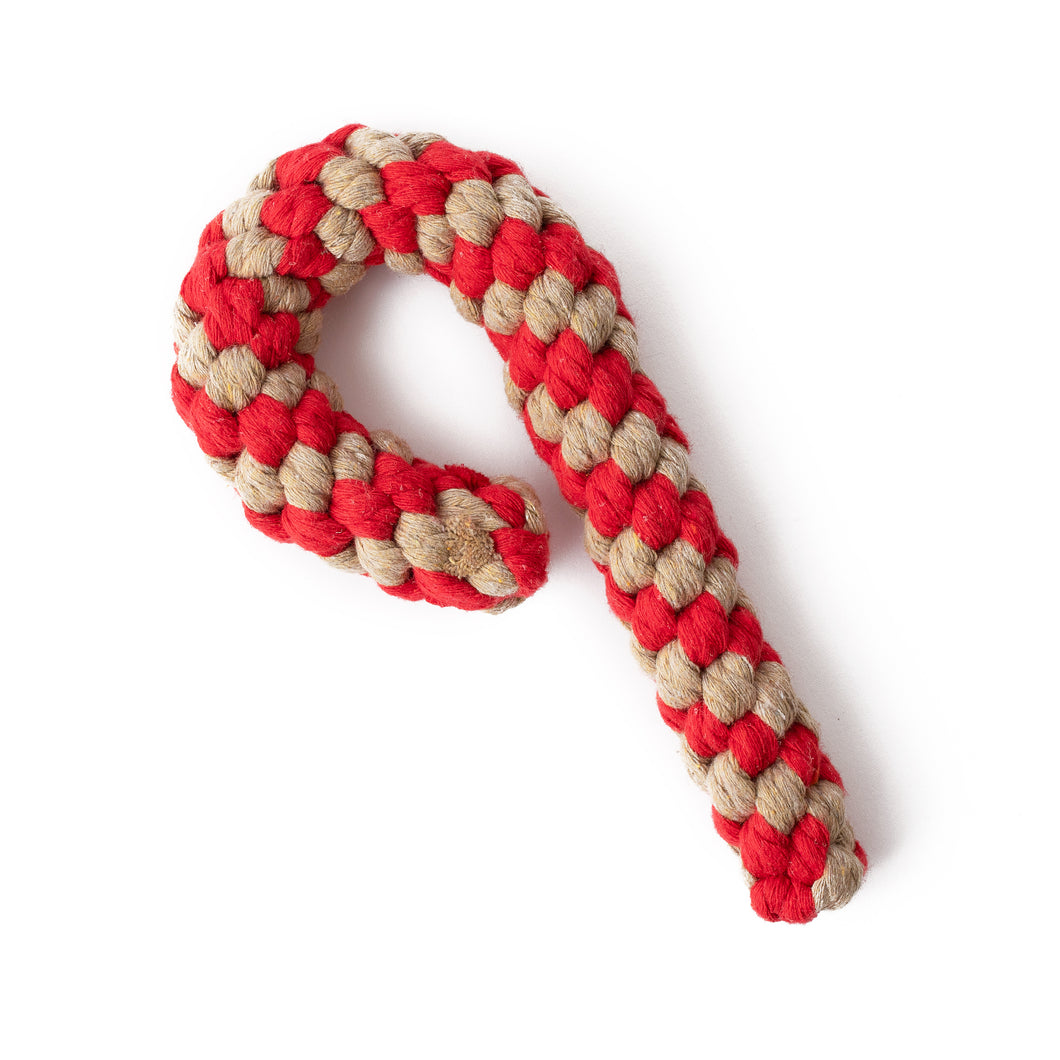 Christmas Candy Cane - red and brown