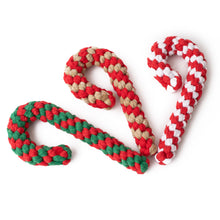 Load image into Gallery viewer, Christmas Candy Cane - red and brown