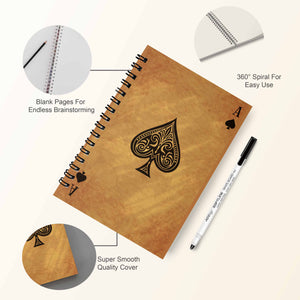 GoofyStore™ Ace Reusable Notebook