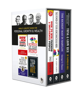 World's Most Powerful Books For Personal Growth & Wealth (Set of 4 Books)