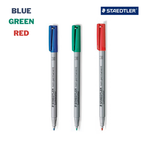 Additional Rewritable Markers for Reusable Notebook [ Set of 3 ]