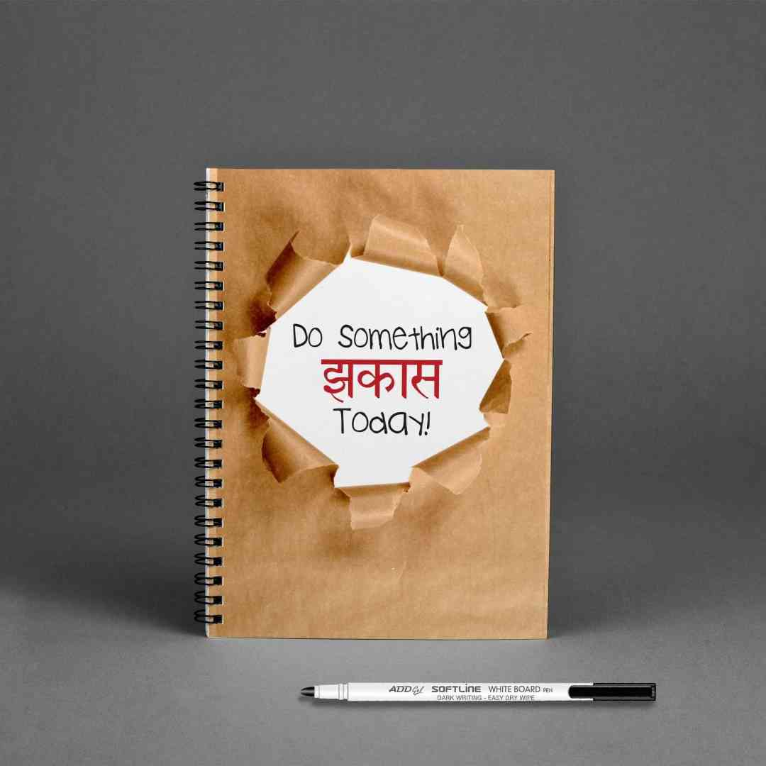 GoofyStore™ Jhakkas Reusable Notebook