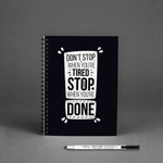 Load image into Gallery viewer, GoofyStore™ Don't Stop When You are Tired Reusable Notebook