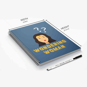 GoofyStore™ Wondering Woman Reusable Notebook