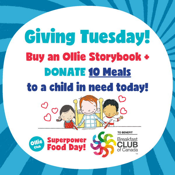 Ollie Storybook + Donate 10 Meals
