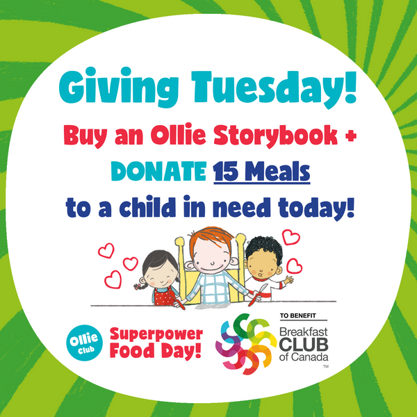 Ollie Storybook + Donate 15 Meals