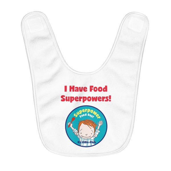 Fleece Baby Bib - Ollie Club
