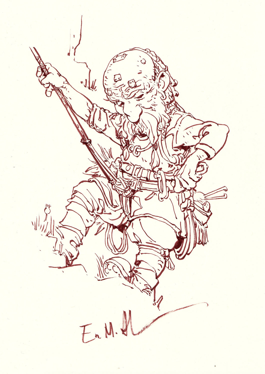 Original Dwarf Artwork 1